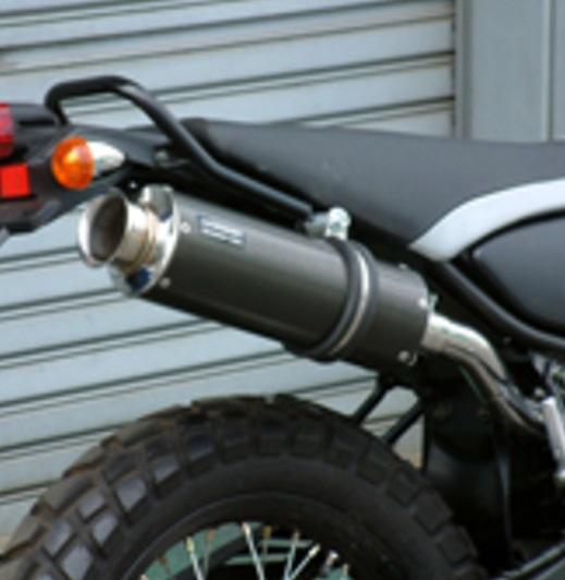 トリッカー(TRICKER)DG10J SS300カーボンマフラー アップタイプ スリップオン BEAMS(ビームス)