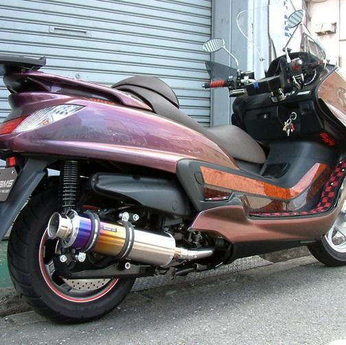 グランドマジェスティ400(SH04J) SS400チタンマフラー BEAMS(ビームス)