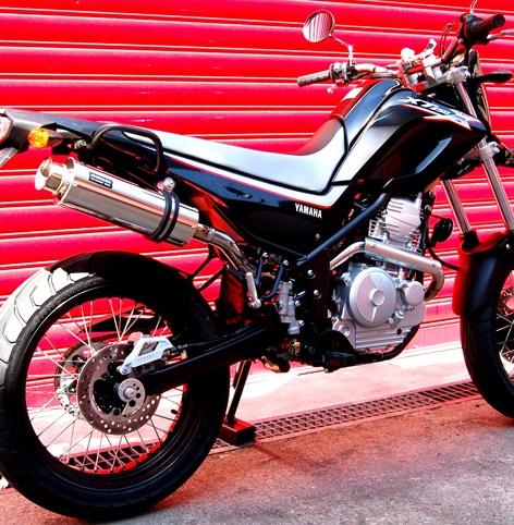 XT250X(DG17J) SS300ソニックマフラー アップタイプ フルエキ BEAMS(ビームス)