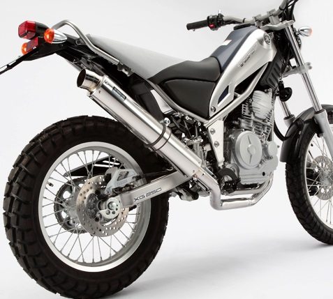 XT250X(DG17J) R-EVO(レーシングエヴォ)マフラー ステンレスサイレンサー BEAMS(ビームス)