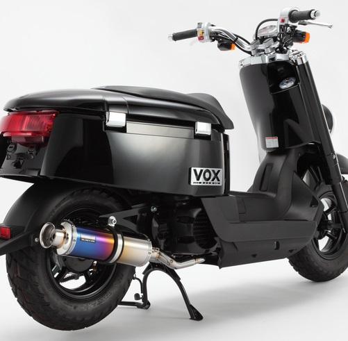 ボックス(VOX)SA31J SS300チタンマフラー BEAMS(ビームス)