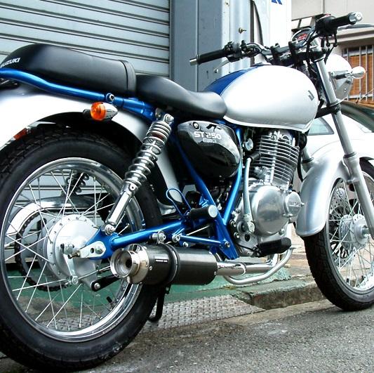 ST250 SS300カーボンマフラー BEAMS(ビームス)