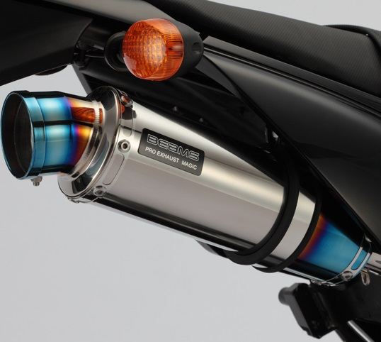 Dトラッカー125(D-TRACKER) R-EVO(レーシングエヴォ) チタンサイレンサー BEAMS(ビームス)