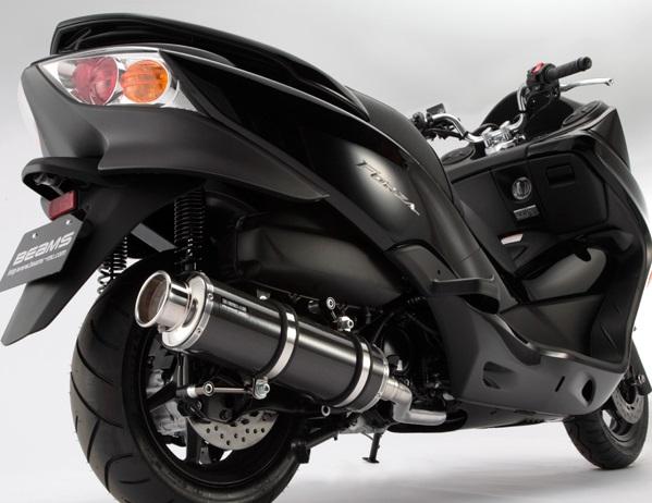 フォルツァ(FORZA)Z/X MF10 SS400カーボン2マフラー SP BEAMS(ビームス)