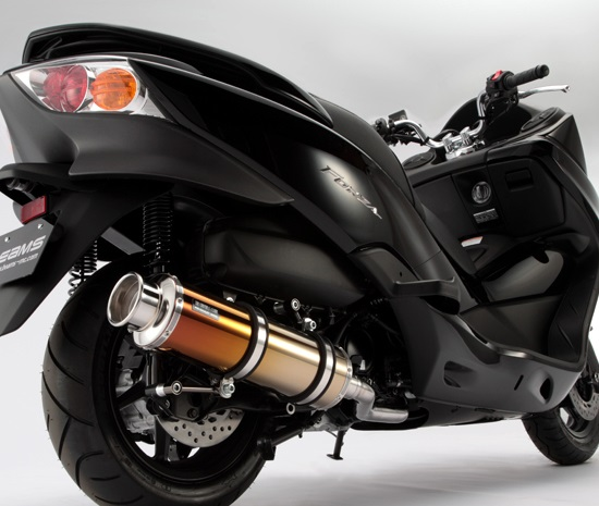 フォルツァ(FORZA)Z/X MF10 SS400チタン2マフラー SP BEAMS(ビームス)