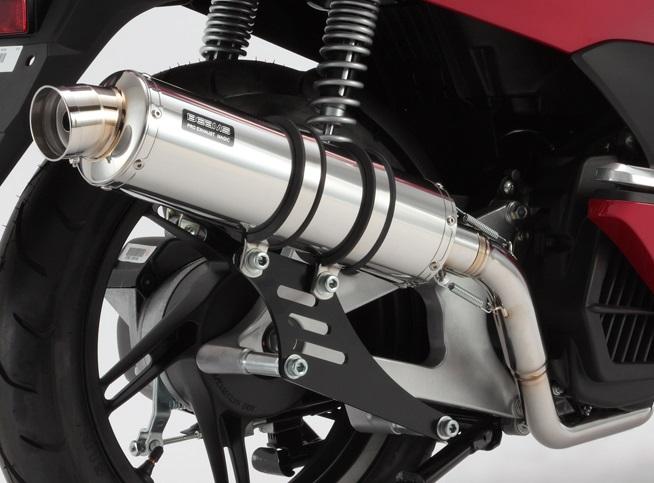 PCX125(初期モデル) R-EVO(レーシングエヴォ)マフラー ステンレスサイレンサーSP BEAMS(ビームス)