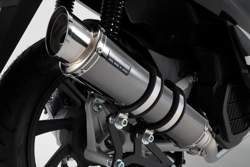 PCX125(2BJ-JF81) R-EVO2 マフラー SMB(スーパーメタルブラック)サイレンサー 政府認証 BMS-R(ビームス)