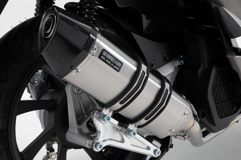 PCX125(2BJ-JF81) CORSA-EVO2 マフラーステンレスサイレンサー 政府認証 BMS-R(ビームス)