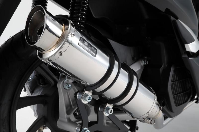 PCX150(2BK‐KF30) R-EVO2 マフラー ステンレスサイレンサー 政府認証 BMS-R(ビームス)