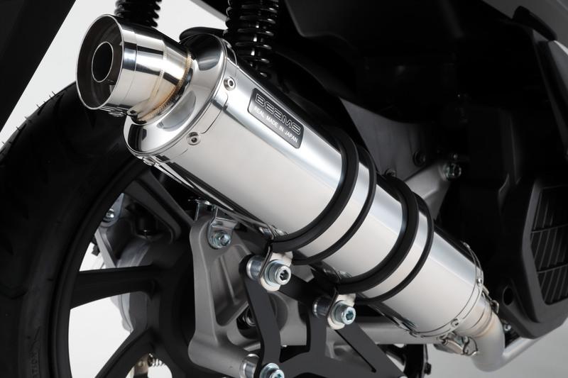 PCX ハイブリッド(2AJ-JF84) R-EVO マフラー ステンレスサイレンサー 政府認証 BMS-R(ビームス)