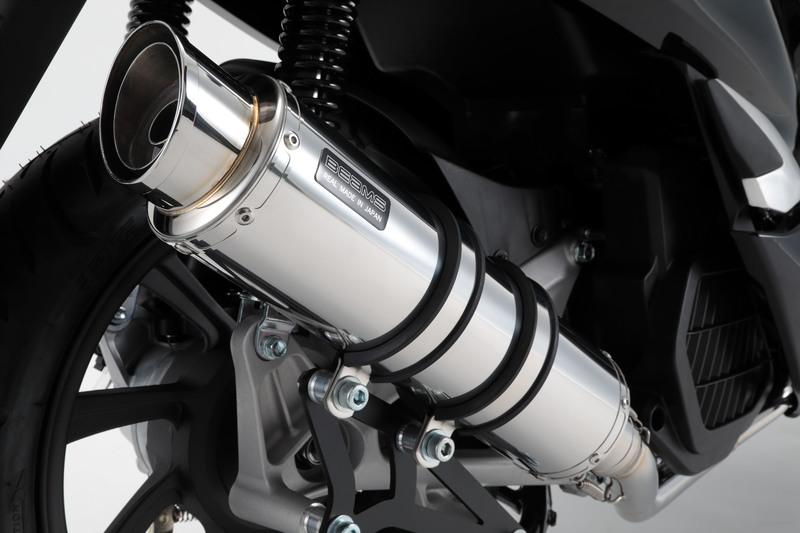 PCX ハイブリッド(2AJ-JF84) R-EVO2 マフラー ステンレスサイレンサー 政府認証 BMS-R(ビームス)