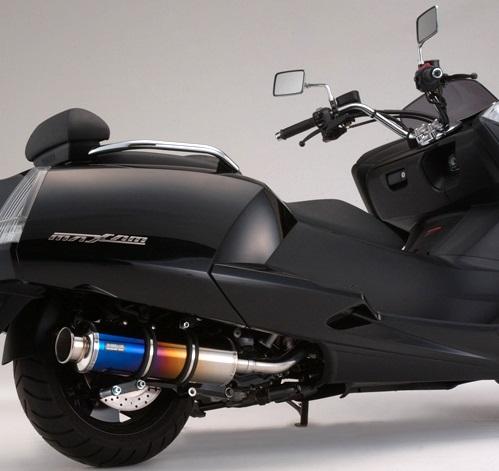 マグザム(MAXAM)SG21J SS400チタンマフラー SP BEAMS(ビームス)