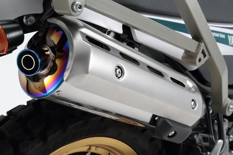 セロー250FI(SEROW)08年~ パワートレックマフラー スリップオン 政府認証 BMS-R(ビームス)