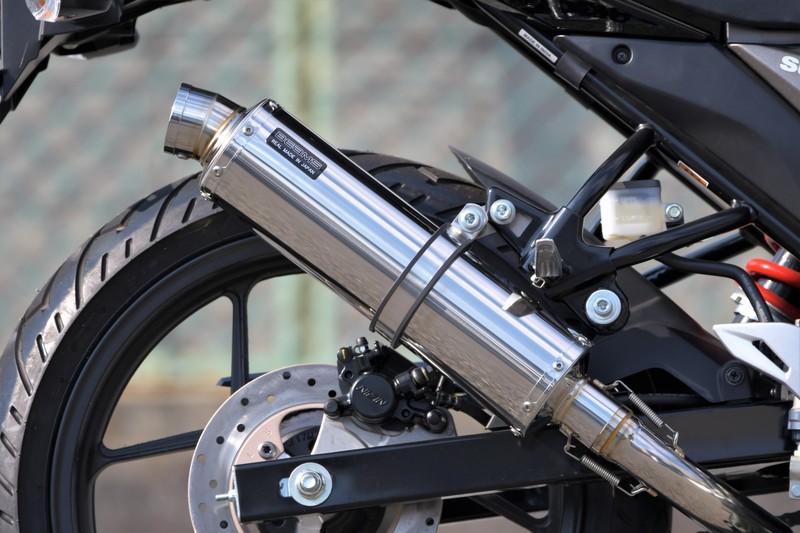 GIXER(ジクサー)2BK-NG4BG R-EVOステンレス フルエキゾーストマフラー 政府認証 BMS-R(ビームス)