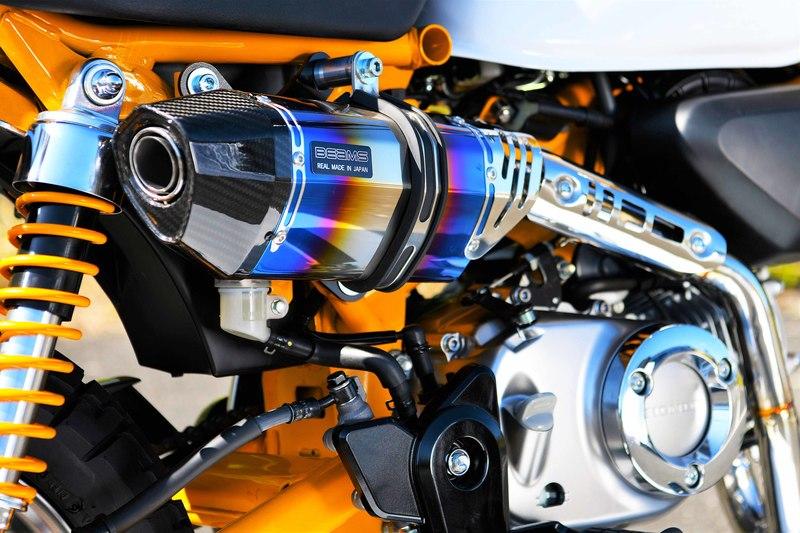 モンキー125(MONKEY125) CORSA-EVO2 マフラー ヒートチタンサイレンサー 政府認証 BMS-R(ビームス)