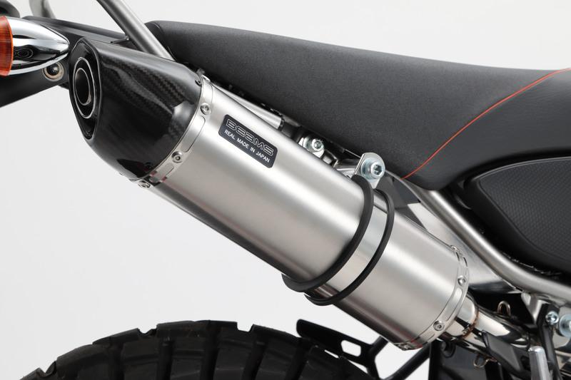 トリッカー(JBK-DG16J) CROSS-EVO スリップオンマフラー ステンレスサイレンサー 政府認証 BMS-R(ビームス)