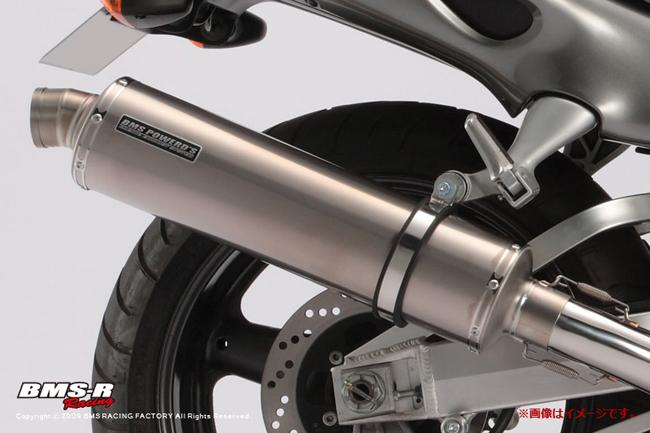 GSX1300R(08年~北米仕様) R-EVOチタンソリッド チタンフルエキ JMCA 4-2-1 BMS-R(ビームス)