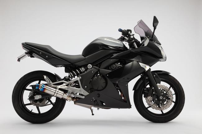 Ninja400R(2010年~) R-EVOヒートチタン スリップオンマフラー BMS-R(ビームス)