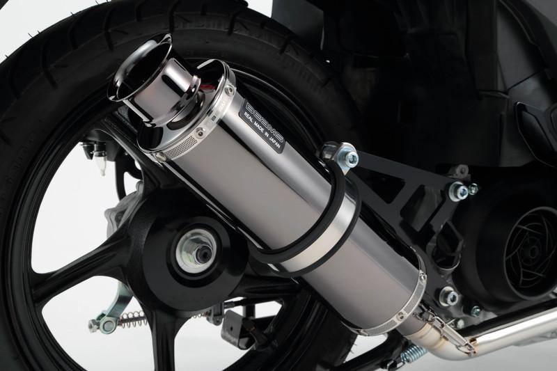 アドレス110(ADDRESS)CE47A SS300SMB(スーパーメタルブラックマフラー)SP 政府認証モデル BEAMS(ビームス)