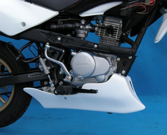XR100モタード アンダーカウル BATTLE FACTORY(バトルファクトリー)