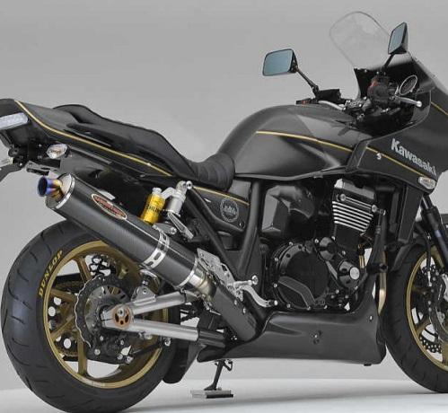 ZRX1200 DAEG(ダエグ) NEW NASSERT-R(ナサートR)スリップオンマフラー チタン/カーボン/A-Tech ヒートガード付属 BEET(ビート)