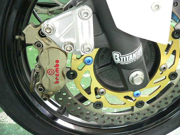 Ninja250(ニンジャ) ブレンボ40mmピッチ用 BIG ローターキット BEET(ビート)