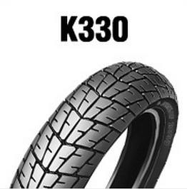ダンロップタイヤ DUNLOP K330 ◆セール特価品◆ リア 保障 120 チューブレス MC 80-16 60S