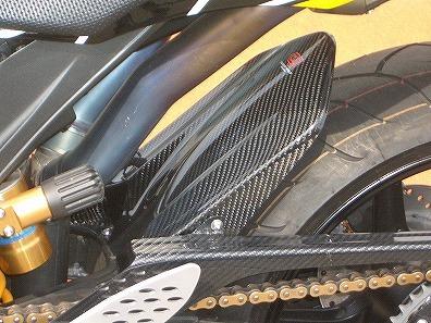 YZF-R1(04~06年) リアフェンダー(ロングタイプ) カーボン平織 CLEVER WOLF RACING(クレバーウルフレーシング)