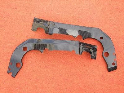 GSX-R600(06~07年) フレームカバー カーボン平織 CLEVER WOLF RACING(クレバーウルフレーシング)