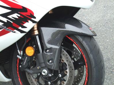 GSX1300R(隼)08年~ フロントフェンダー カーボン綾織 CLEVER WOLF RACING(クレバーウルフレーシング)