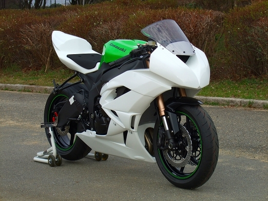 ZX-6R(09~12年) フルカウル CLEVER WOLF RACING(クレバーウルフレーシング)