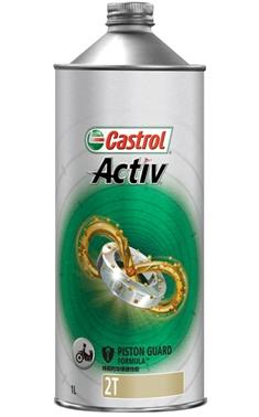 Active 商品追加値下げ在庫復活 アクティブ 2T 1リットル 1L エンジンオイル Castrol カストロール 4985330202323 オンラインショップ