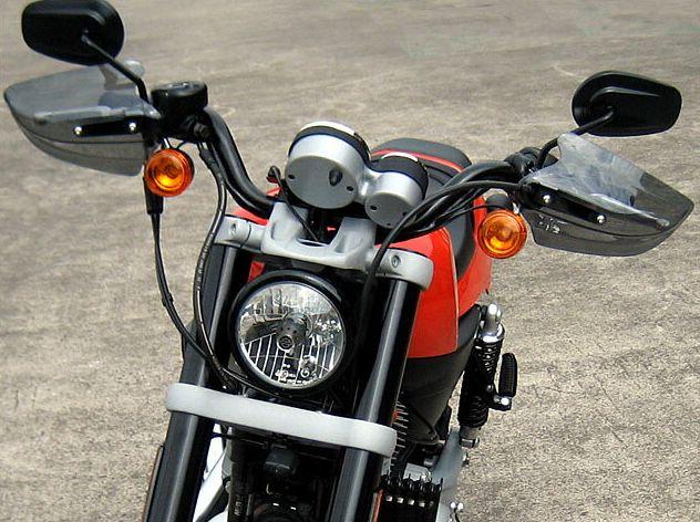 スポーツスター XR1200(SPORTSTER)09年~ ガイラガントレット クリア CHIC DESIGN(シックデザイン)