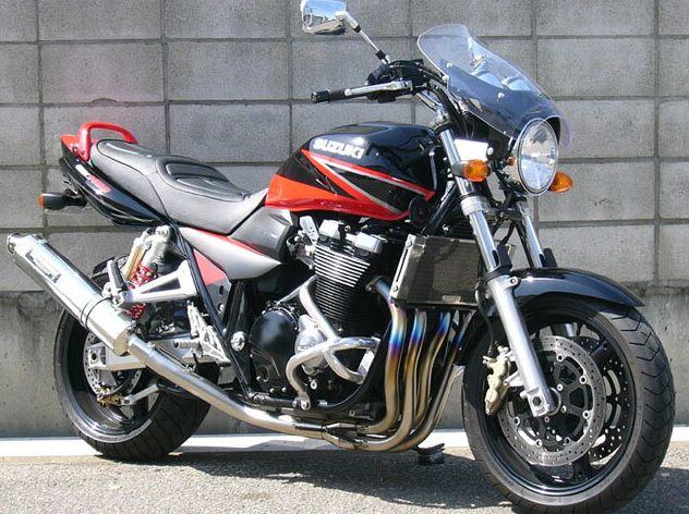 GSX1400(01~08年) ガイラシールド Mサイズ スモーク CHIC DESIGN(シックデザイン)