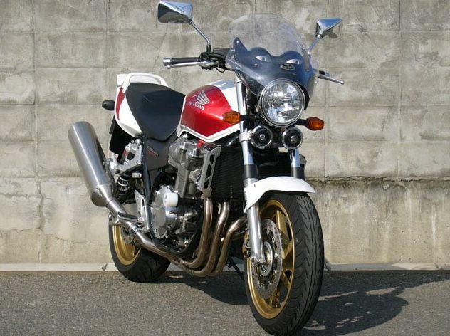 CB1300SF(03年~) ガイラシールド Mサイズ スモーク CHIC DESIGN(シックデザイン)