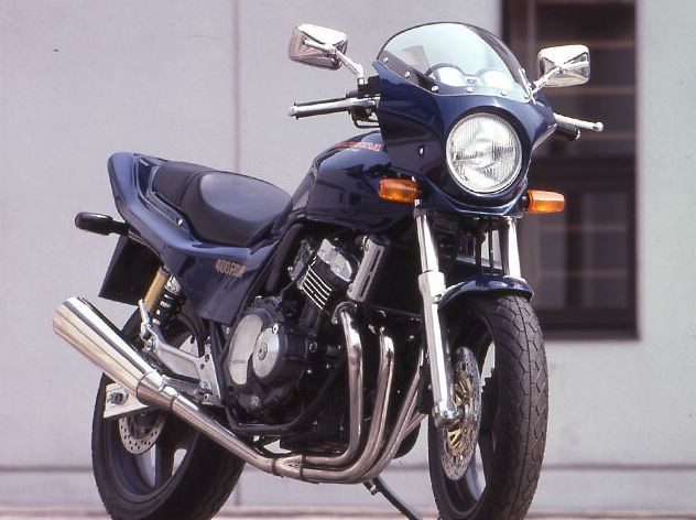 CB400SF・Ver.S(92~98年) マスカロード スモークスクリーン 未塗装(黒ゲルコート) 通常スクリーン CHIC DESIGN(シックデザイン)