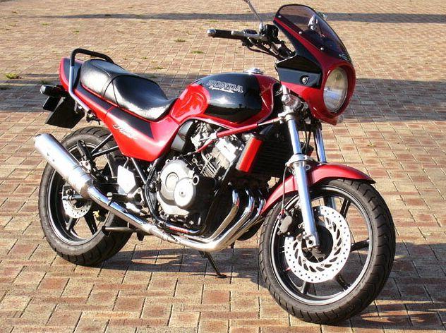ジェイド・S(JADE)91~95年 ロードコメット クリアスクリーン キャンディブルゴーニュレッド/ブラック(R-107CU/NH-1) 通常スクリーン シックデザイン