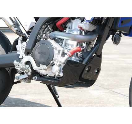 WR250R/X CJE14 スキッドプレートタイプ2 WR250R/X ブラック サイクラム(CYCLE-AM)