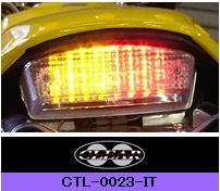 インテグレート・テールライト(ウィンカー内蔵式)M2(-02) CLEAR ALTERNATIVES(クリアオルタナティブ) Buell(ビューエル)