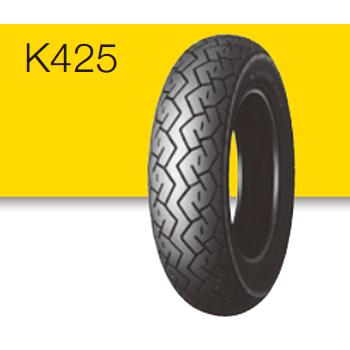 160/80-15 M/C 74V K425 リア用 タイヤ TL DUNLOP(ダンロップ)