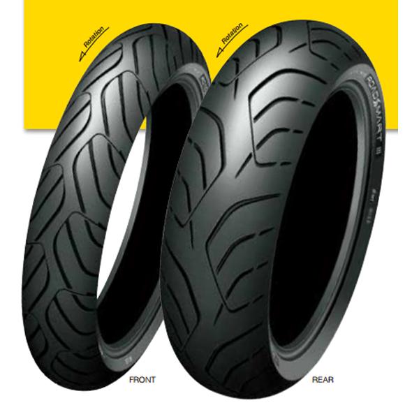 120/60ZR17 M/C 55W スポーツマックス ロードスマート3 フロント用 タイヤ TL DUNLOP(ダンロップ)