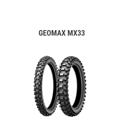 MX33 120/90-18 65M リア用 WT(チューブタイプ) DUNLOP(ダンロップ)