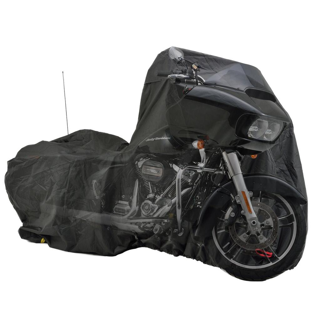 バイク用カバー ブラックカバー ウォーターレジスタント ライト ハーレーダビッドソン専用 HD02 DAYTONA(デイトナ)