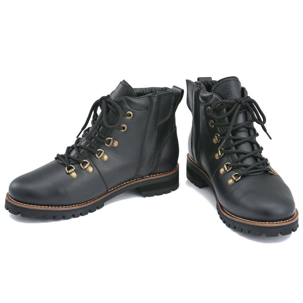 HBS-005 マウンテンブーツ ブラック 25.5cm DAYTONA(デイトナ)