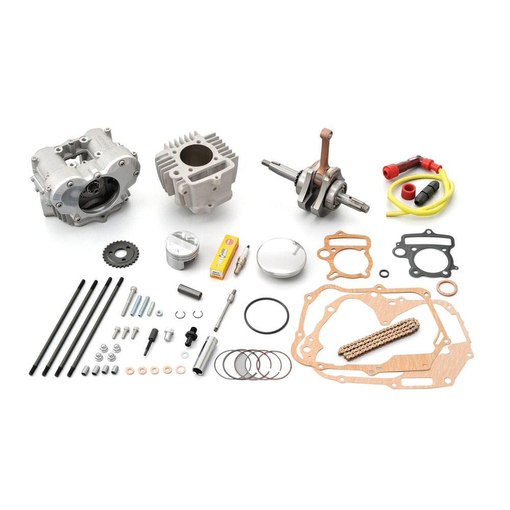 モンキー/ゴリラ(12V) フィンガーフォロアー DOHC ボア&ストロークアップキット(124.8cc) DAYTONA(デイトナ)
