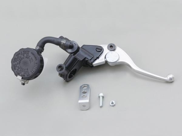 NISSINブレーキマスターシリンダーキット ショートレバータイプ(横型/タンク別体式1/2インチ約12.7mm)ブラック レバーカラーバフクリアー DAYTONA(デイトナ)
