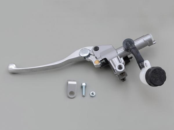 NISSINクラッチマスターシリンダーキット(横型/タンク別体式14mm)シルバー レバーカラーバフクリアー DAYTONA(デイトナ)