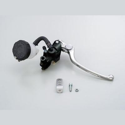 NISSINラジアルブレーキマスターシリンダー縦型Φ17(11/16インチ) ブラック レバーカラー シルバー DAYTONA(デイトナ)