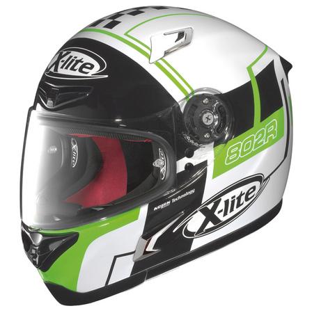 NOLAN X-lite X-802R ラッシュ ホワイト・Mサイズ フルフェイスヘルメット NOLAN(ノーラン)