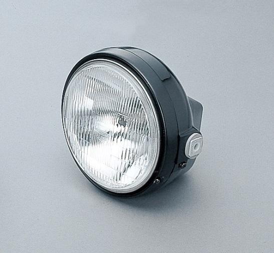 ヘッドライトキット レンズ径Φ153 外径184mm ブラック/ブラック DAYTONA(デイトナ)